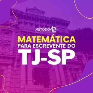 matemática para TJ-SP